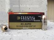 FEDERAL AMMUNITION Ammunition 45 ACP HYDRA-SHOK JHP